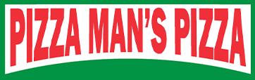 Pizza Man's Pizza logo